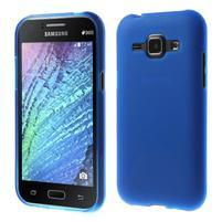 Modrý matný kryt pre Samsung Galaxy J1