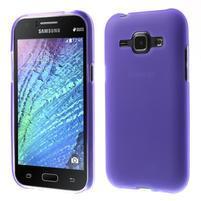 Fialový matný kryt pre Samsung Galaxy J1