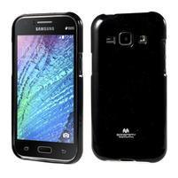 Čierny gélový obal pre Samsung Galaxy J1