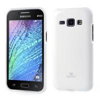 Biely gélový obal pre Samsung Galaxy J1
