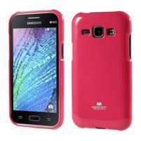 Rose gélový obal pre Samsung Galaxy J1