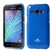 Modrý gélový obal pre Samsung Galaxy J1
