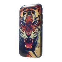 Gélový kryt na Samsung Galaxy J1 - tygr