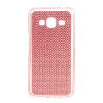 Diamond gélový obal pre mobil Samsung Galaxy J3 (2016) - ružový
