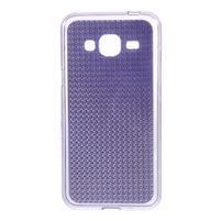 Diamond gelový obal na mobil Samsung Galaxy J3 (2016) - fialový