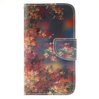 Standy peňaženkové puzdro pre Samsung Galaxy J5 - jesenné zátiší