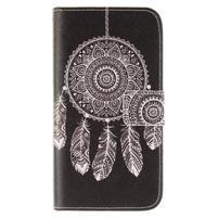 Standy peňaženkové puzdro pre Samsung Galaxy J5 - lapač snov