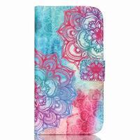 Pictu peňaženkové puzdro pre Samsung Galaxy J5 - henna