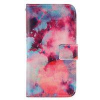 Standy peňaženkové puzdro pre Samsung Galaxy J5 - malba