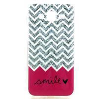 Imda gélový obal pre mobil Samsung Galaxy J5 - smile
