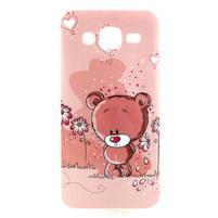 Imda gelový obal na mobil Samsung Galaxy J5 - medvídek