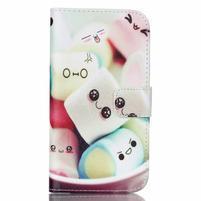 Pictu peňaženkové puzdro pre Samsung Galaxy J5 - kokina
