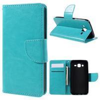 Peňaženkové puzdro pre mobil Samsung Galaxy J5 - modré