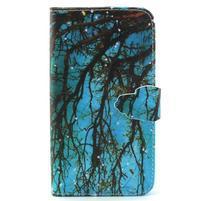 Knížkové puzdro pre mobil Samsung Galax J5 - strom