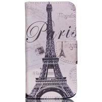 Emotive pouzdro na mobil Samsung Galaxy J5 - Eiffelova věž
