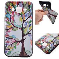 Jelly gelový obal na mobil Samsung Galaxy J5 - malovaný strom