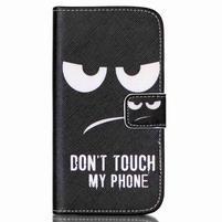 Pictu peňaženkové puzdro pre Samsung Galaxy J5 - nesiahat