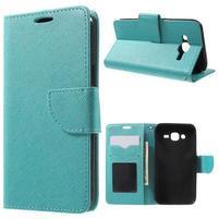 Crossy koženkové puzdro pre Samsung Galaxy J5 - modré