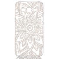 Ultratenký průhledný obal na Samsung Galaxy J5 - henna