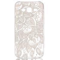 Ultratenký priehľadný obal pre Samsung Galaxy J5 - henna