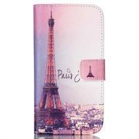 Pictu peňaženkové puzdro pre Samsung Galaxy J5 - Eiffelova veža