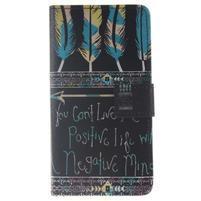Style peňaženkové puzdro pre Samsung Galaxy J5 (2016) - positive