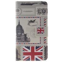 Style peňaženkové puzdro pre Samsung Galaxy J5 (2016) - United Kingdom