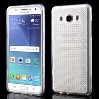 Diamnods gélový obal mobil pre Samsung Galaxy J5 (2016) - transparentný