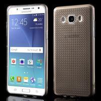 Diamnods gelový obal mobil na Samsung Galaxy J5 (2016) - šedý