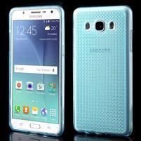 Diamnods gelový obal mobil na Samsung Galaxy J5 (2016) - modrý
