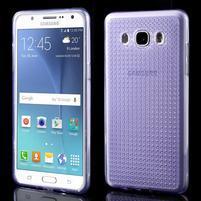 Diamnods gelový obal mobil na Samsung Galaxy J5 (2016) - fialový