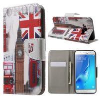 Nice peňaženkové puzdro pro Samsung Galaxy J5 (2016) - United Kingdom