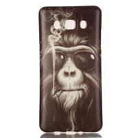 Jelly gélový obal pre Samsung Galaxy J5 (2016) - orangutan