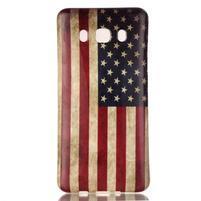 Jelly gélový obal pre Samsung Galaxy J5 (2016) - US vlajka