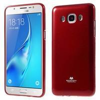 Newsets gelový obal na Samsung Galaxy J5 (2016) - vínověčervený
