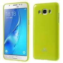 Newsets gélový obal pre Samsung Galaxy J5 (2016) - zelený