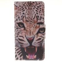 Pictures pouzdro na mobil Samsung Galaxy J5 (2016) - leopard