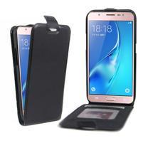 Flipové puzdro pre mobil Samsung Galaxy J5 (2016) - čierne