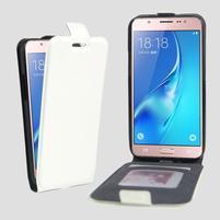Flipové puzdro pre mobil Samsung Galaxy J5 (2016) - biele