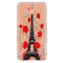 Transparentný gélový obal pre Samsung Galaxy J5 (2016) - Eiffelova veža