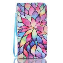 Etny puzdro pre mobil Samsung Galaxy J5 (2016) - farebné kvety