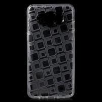 Square gelový obal na Samsung Galaxy J5 (2016) - transparentní