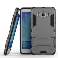 Odolný kryt pre mobil Samsung Galaxy J5 (2016) - šedý