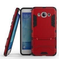 Odolný kryt pre mobil Samsung Galaxy J5 (2016) - červený