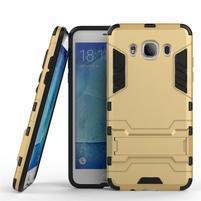 Odolný kryt na mobil Samsung Galaxy J5 (2016) - zlatý