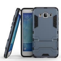 Odolný kryt pre mobil Samsung Galaxy J5 (2016) - šedomodrý