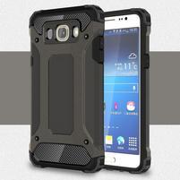Armor 2v1 odolný obal pre Samsung Galaxy J5 (2016) - tmavošedý