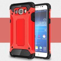 Armor 2v1 odolný obal pre Samsung Galaxy J5 (2016) - červený