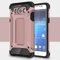 Armor 2v1 odolný obal pre Samsung Galaxy J5 (2016) - ružový