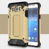Armor 2v1 odolný obal pre Samsung Galaxy J5 (2016) - zlatý